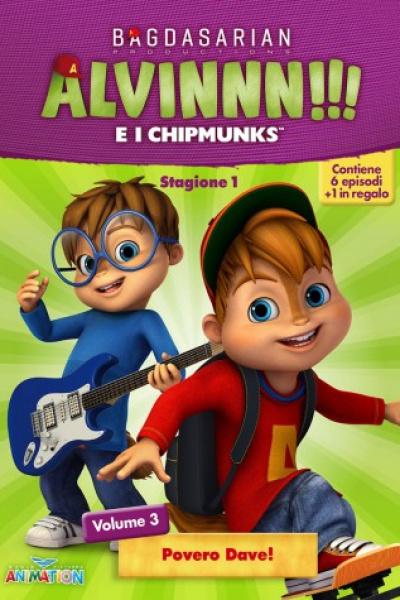 Alvinnn!!! Stag. 1 Vol. 3 - Povero Dave!