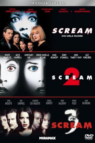 Trilogia Scream (1+2+3)