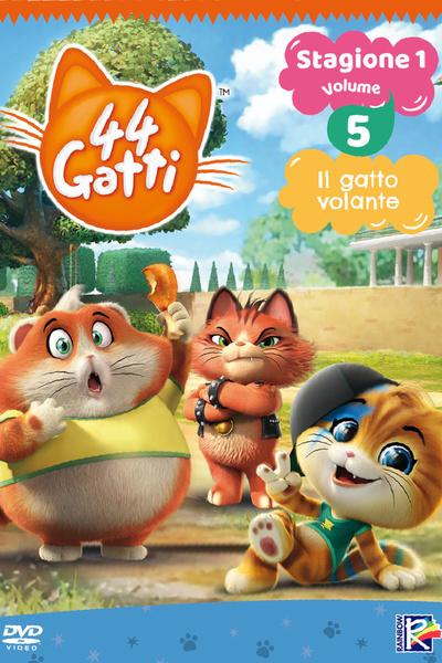 44 Gatti Stagione 1 Vol. 5 - Il gatto volante