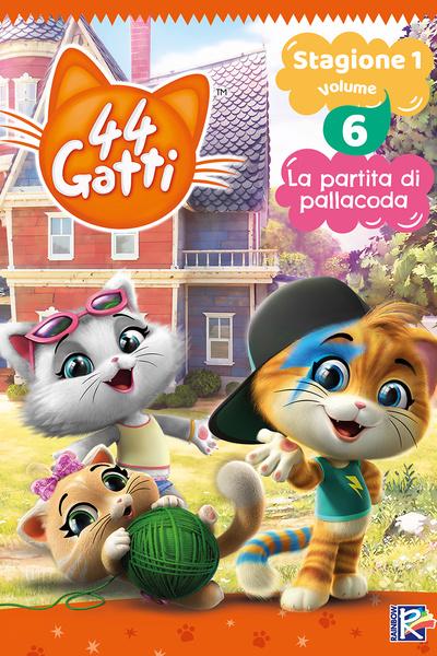 44 Gatti - Stagione 1 Vol. 6 - La partita di pallacoda