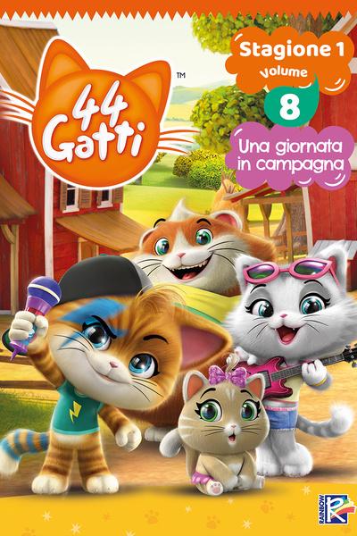 44 Gatti - Stagione 1 Vol. 8 - Una giornata in campagna