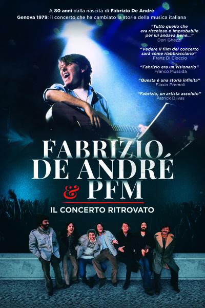 FABRIZIO DE ANDRÉ & PFM Il concerto ritrovato